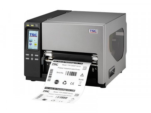 TTP-384MT - Etikettendrucker, thermotransfer, 300dpi, Farb-Touchdisplay, USB, RS232, Parallel, Ether